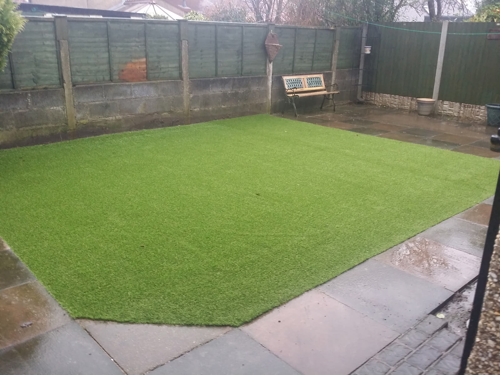 Artificial Lawn Saves Dog Lovers Garden